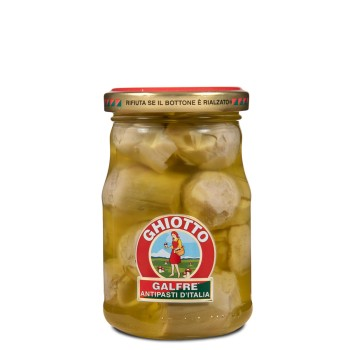 Carciofini sott'olio d'oliva g. 190