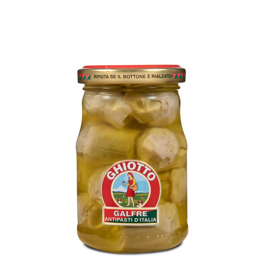 Artichokes in olive oil g. 190