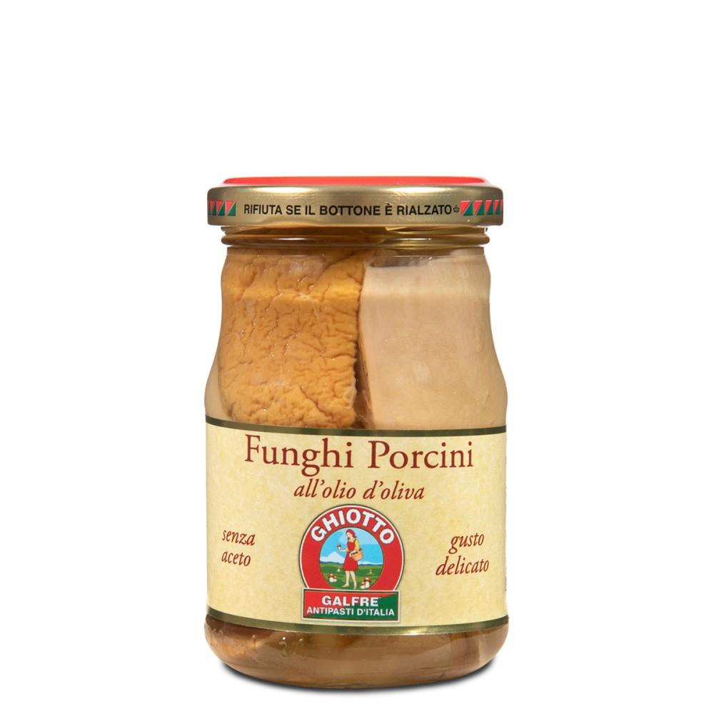 """Funghi porcini tagliati g. 190 """"gusto delicato"""""""