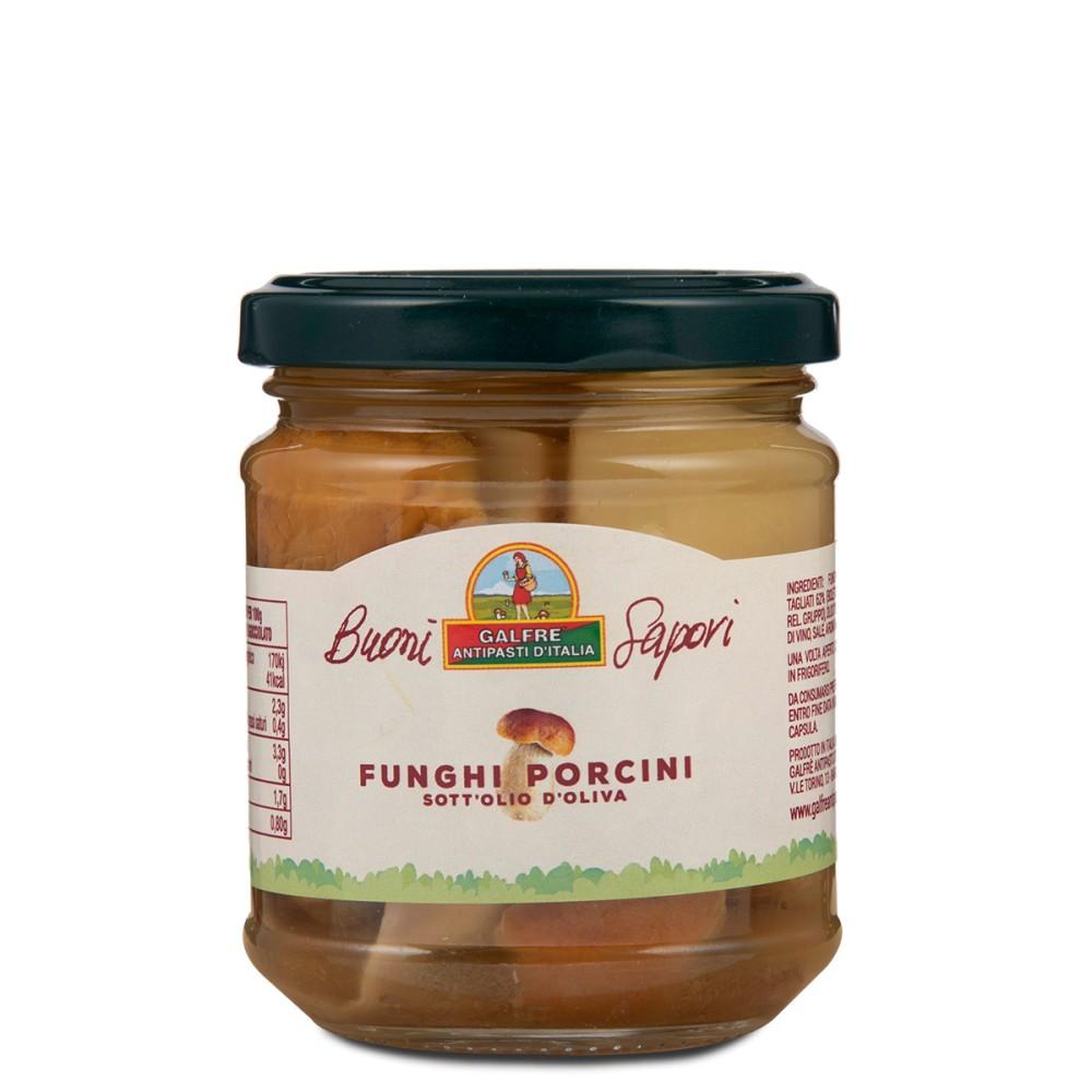 "Sliced porcini mushrooms ""Buoni Sapori"" g. 190"