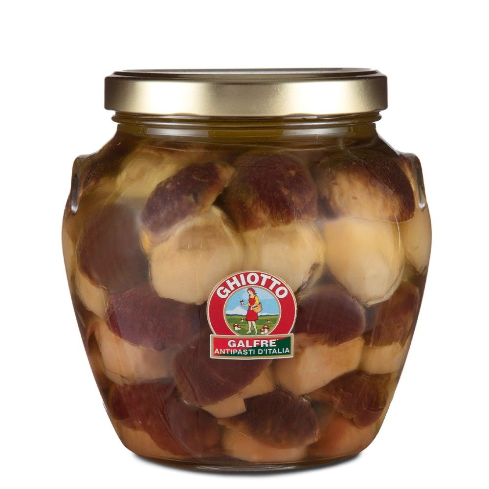 Whole porcini mushrooms kg 1,6 orcio jar