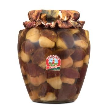 Funghi porcini interi Kg. 3 vaso orcio