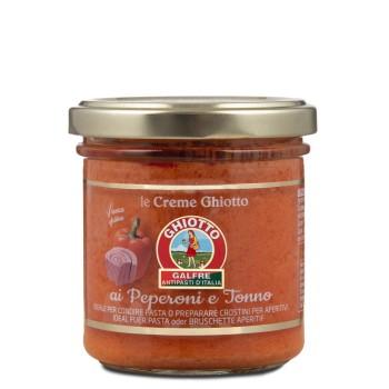 Crema di peperoni e tonno g. 140
