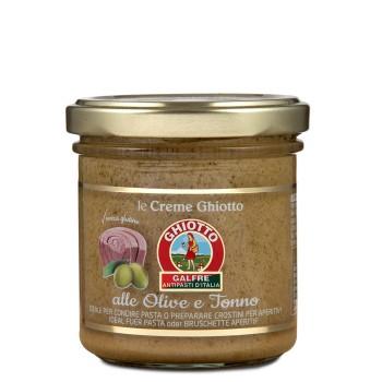 Crema alle olive e tonno g. 140