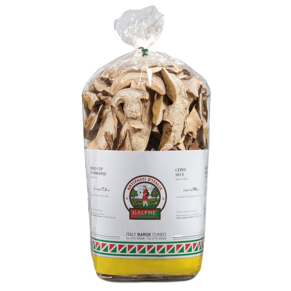 """Dried porcini mushrooms g. 500 packet """"commerciale"""""""