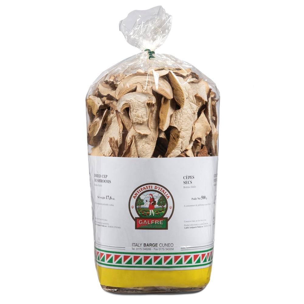 """Funghi porcini secchi sacchetto g. 500 """"commerciale"""""""