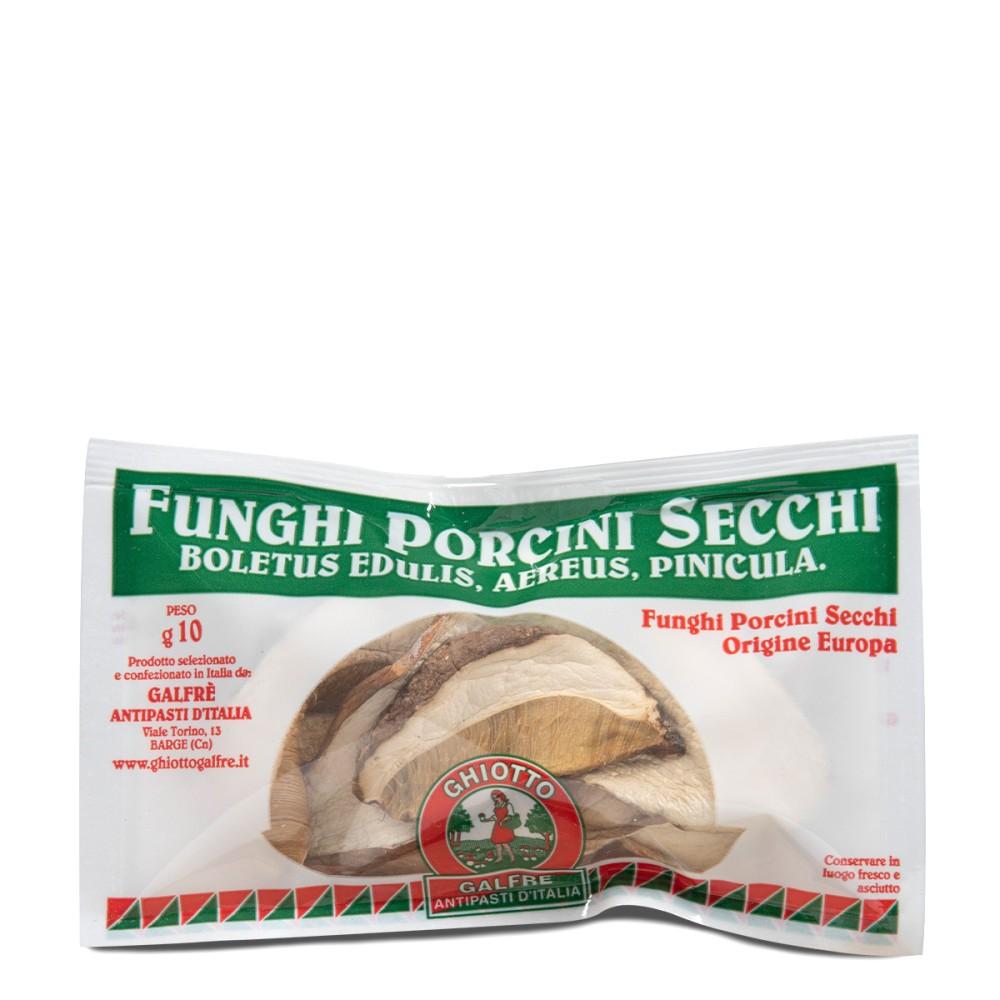 "Dried porcini mushrooms ""speciale"" sachet g. 10"