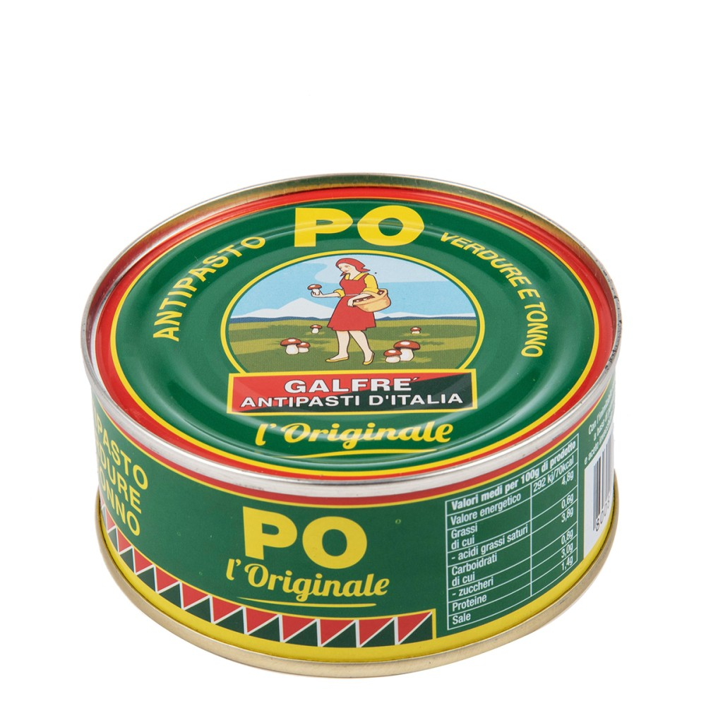 Antipasto PO verdure con tonno g. 160