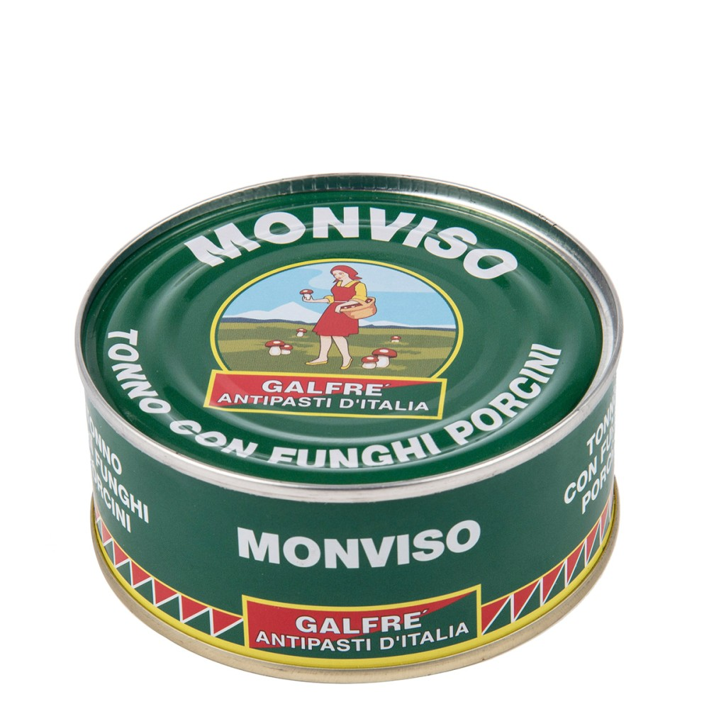 Monviso, Tuna fish with porcini mushrooms g. 160