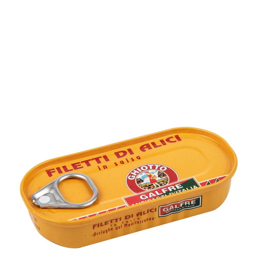 Filetti di Alici in salsa g. 50