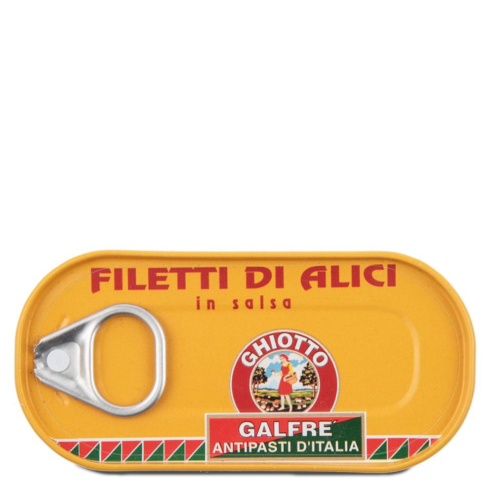 Alici in salsa | 50g - 6 pezzi