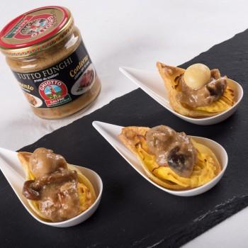 Pasta shells au gratin
