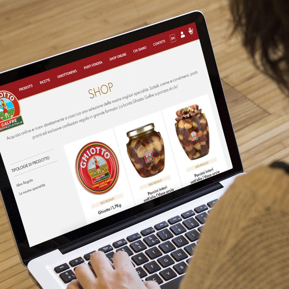 Scopri il nuovo Shop Ghiotto Galfrè: golose bontà a portata di clic!