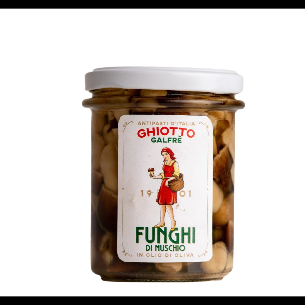 """Funghi di muschio g. 190 """"dal 1901"""""""