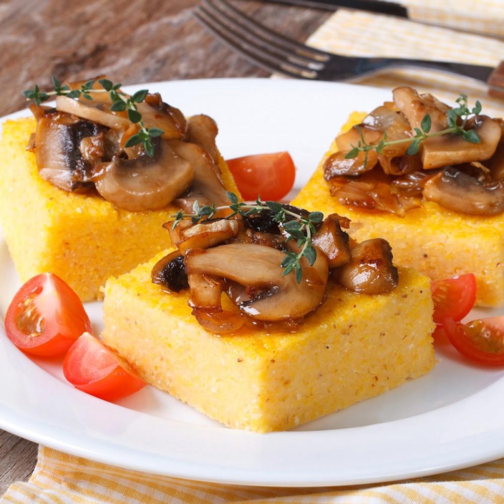 Crostini di polenta con Condighiotto