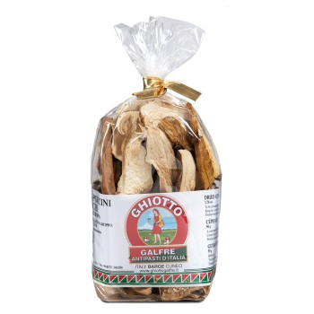 "Dried porcini mushrooms ""speciale"" pouch g. 50"