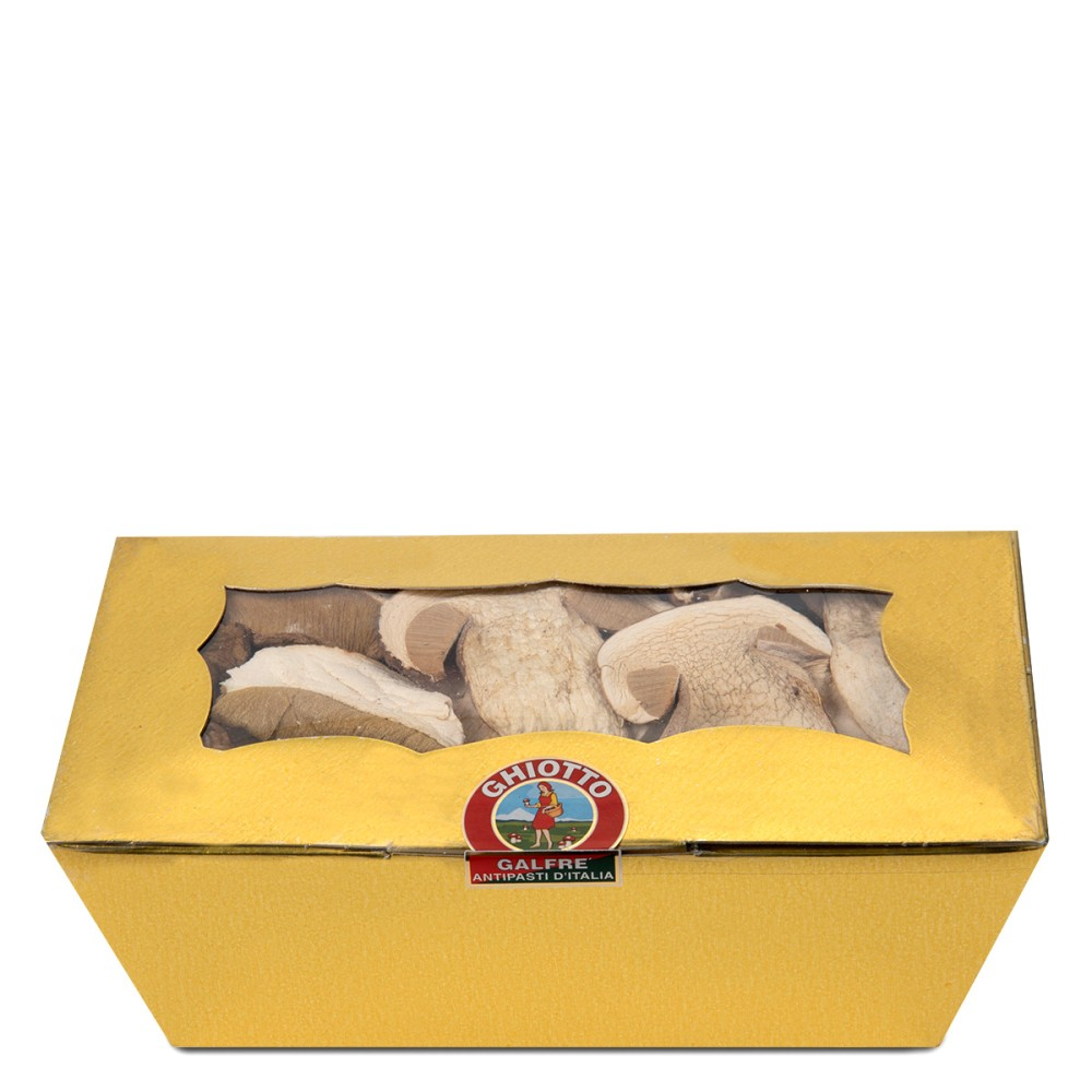 """Dried porcini mushrooms golden box """"speciale"""" g. 100"""